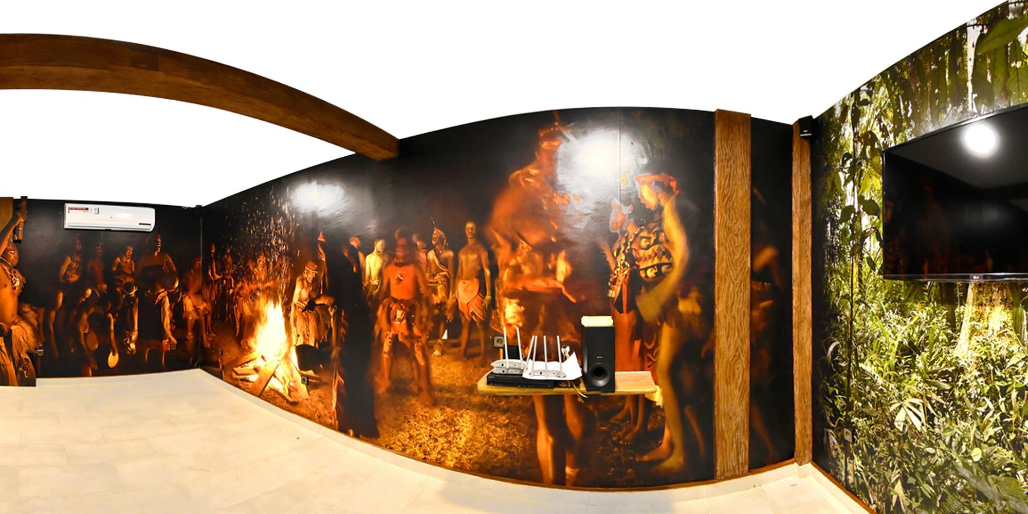 Habillage mural, de sol et de mobilier